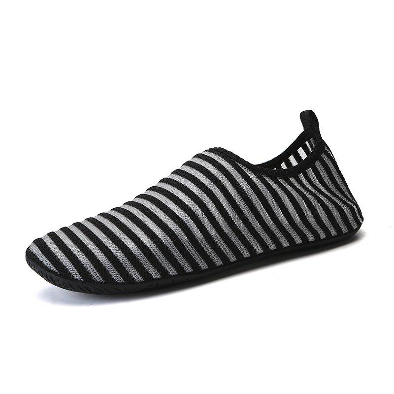 Trendy Breathable Comfortable Swimming Shoes - BLACK 43