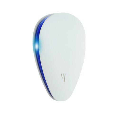A08 Frequency Conversion ultrasonic Insect Dispeller - WHITE UK PLUG