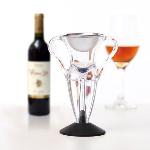 LFK - 004A Magic Fast Decanter Angel Red Wine Aerator Gift - TRANSPARENT