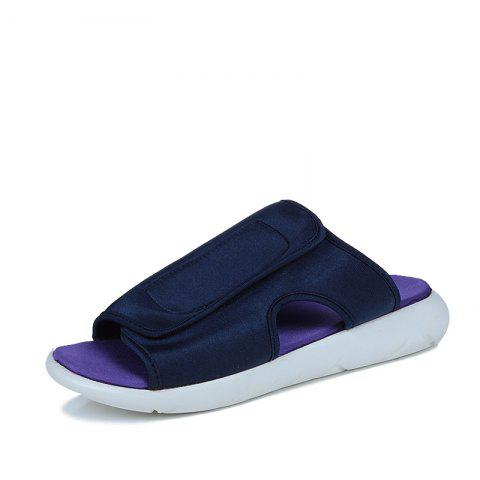 68585006f52dd 41% OFF] 2019 Stylish Durable Slippers For Men In BLUE ORCHID ...
