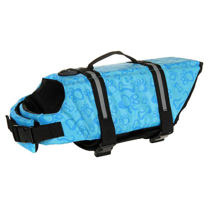 New Pet Swimming Dedicated Life Jacket - DAY SKY BLUE