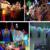 Solar LED String Copper Wire 100 LEDs IP65 Waterproof Holiday Decoration 10M - WARM WHITE