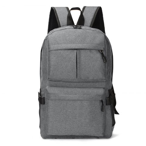 HUWAIJIANFENG Business Laptop Backpack with USB Charging Port - GRAY