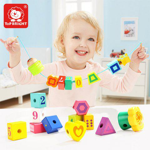 Topbright 120306 Building blocks Educational Beaded Toy for Boys Girls - multicolor A