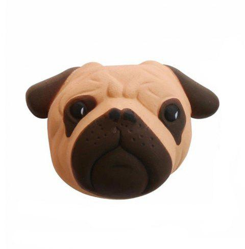 Scented Jumbo Squishy Slow Rising Decompression Toys Pug Dog Stress Reliever - multicolor A