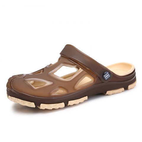 Stylish Casual Beach Slippers for Men - TAN 45