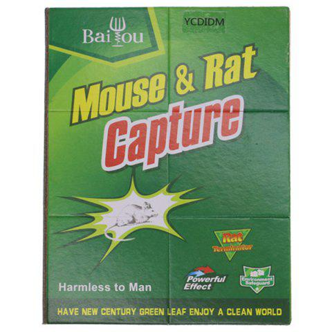 Strong Mouse Catcher Rat Glue Trap Environmental Nontoxic - FOREST GREEN