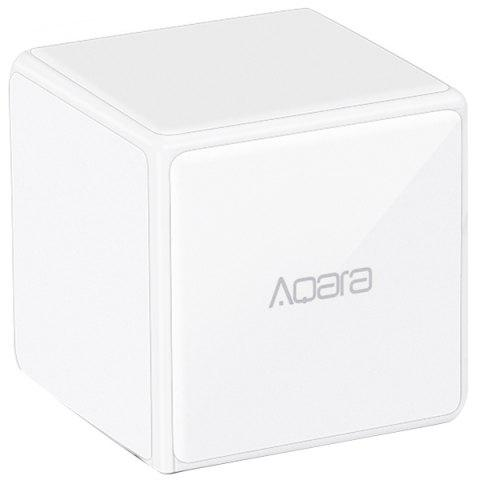 AQara Cube Smart Home Controller 6 Actions Device ( Xiaomi Ecosysterm Product ) - WHITE