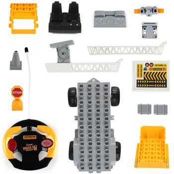 1801 2 in 1 1/18 4CH RC Car Building Blocks Puzzle Toy for Kids - BEER