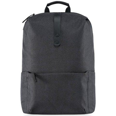 Xiaomi 20L Polyester College Leisure Backpack 15.6 inch Laptop Bag - BLACK