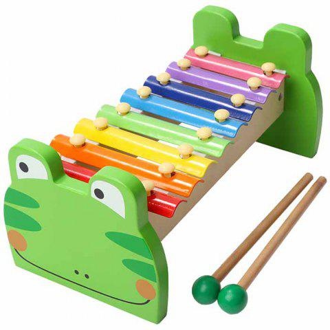 Topbright 8 Tone Glockenspiel Xylophone Piano Kids Music Toy - multicolor