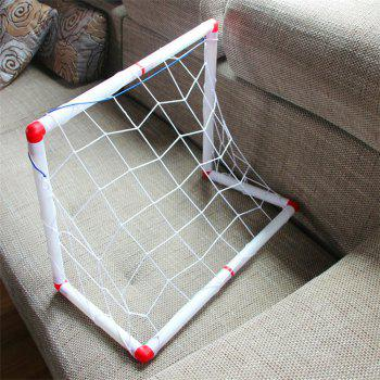 Detachable Football Goal Set Toy Indoor and Outdoor Sports Toy - WHITE