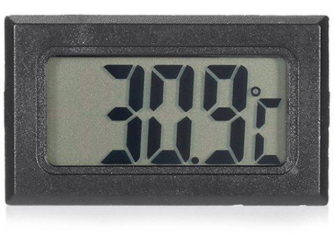 Mini LCD Digital Thermometer Temperature Gauge for Car Air-conditioned Room  Refrigerator Fish Tank