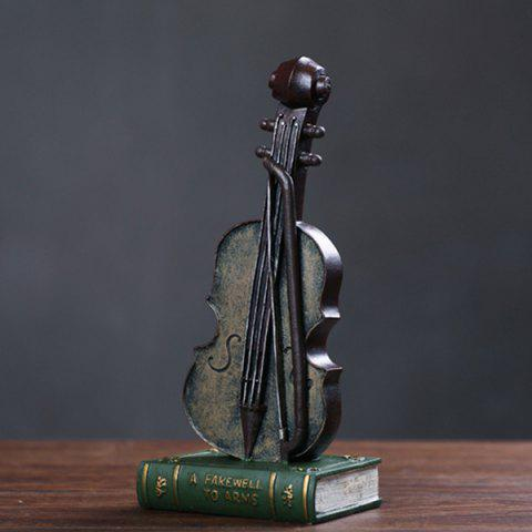 Creative Resin Retro Violin Table Decoration Special Art Craft - SANGRIA