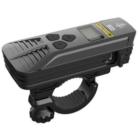 NiteCore BR35 1800LM Dual Light Source Rechargeable Bicycle Lamp - BLACK