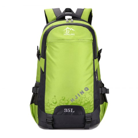 Convenient Durable Nylon Backpack - SALAD GREEN