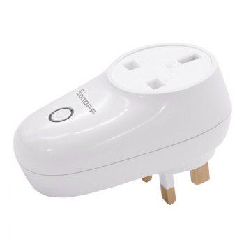 SONOFF S26 WiFi Smart Plug Socket for Home Safety - WHITE