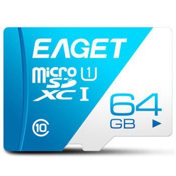 EAGET T1 Class 10 80MB/s TF Card 64GB