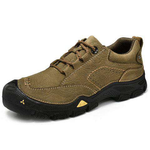 Fashion Casual Outdoor Sports Shoes - LIGHT KHAKI 41