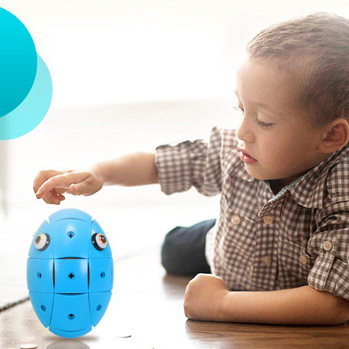 Creative Magnetic Deformable Egg Building Blocks - SAPPHIRE BLUE