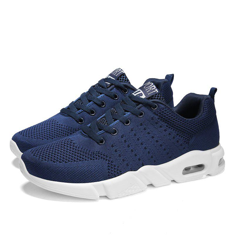 Breathable Comfort Running Sneakers - BLUE JAY 44