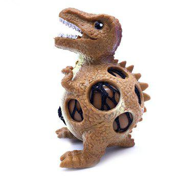MoFun 3020 Dinosaur Style Decompression Squishy Toy for Entertainment / Decoration 3pcs - multicolor
