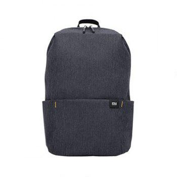 Xiaomi Solid Color Lightweight Water-resistant Backpack - BLACK