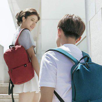 Xiaomi Solid Color Lightweight Water-resistant Backpack - RED WINE
