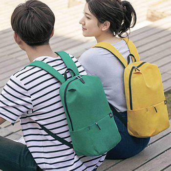 Xiaomi Solid Color Lightweight Water-resistant Backpack - RUBBER DUCKY YELLOW