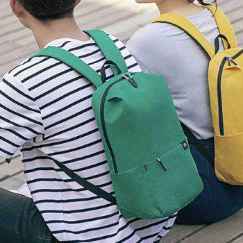 Xiaomi Solid Color Lightweight Water-resistant Backpack - LIGHT SEA GREEN
