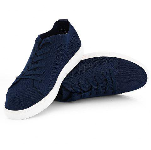 Men Fashion Casual Sneaker Shoes - MIDNIGHT BLUE 41
