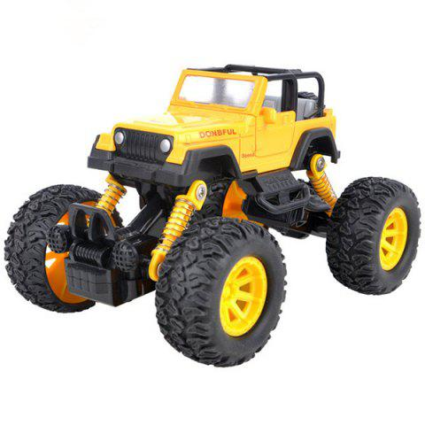 Off-road Rock Vehicle Crawler Truck Toy for Children - YELLOW