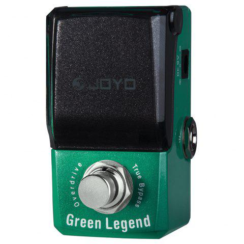 Joyo JF - 319 Green Legend Overdrive Electric Guitar Single Effect - MEDIUM AQUAMARINE