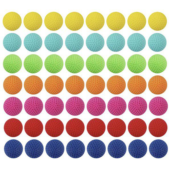 Colorful Bullet Ball for Nerf Toy Gun 100pcs - multicolor