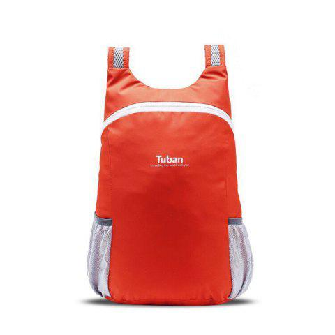 Tuban Fashion Casual Ultralight Foldable Backpack 1pc - BEAN RED