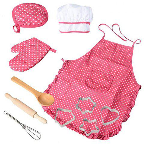 DIY Kitchen Baking Tools Set Toy for Children - PINK