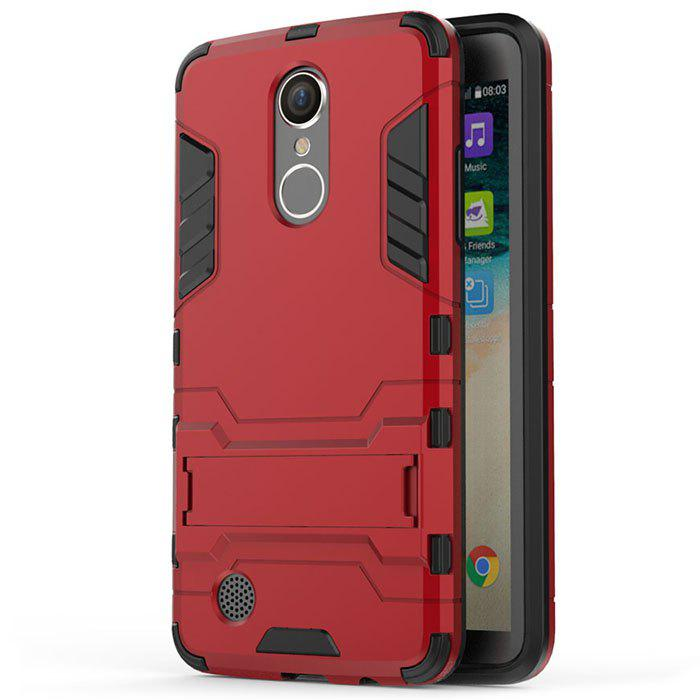 Armor Case for LG K8 2017 / LV3 Shockproof Protection Cover - RED