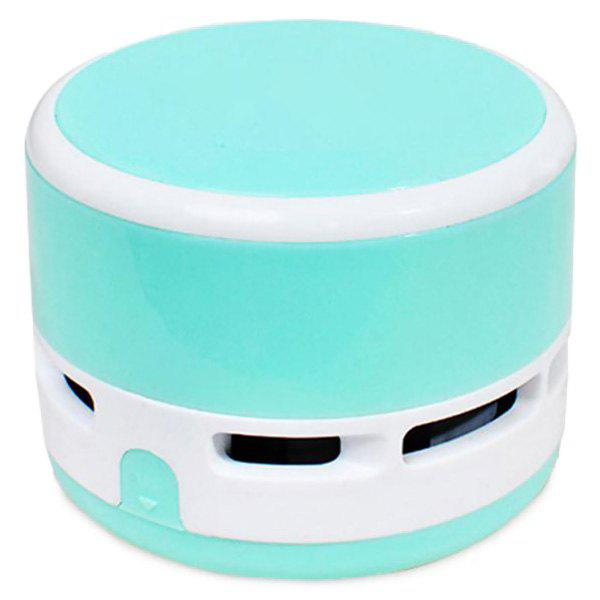 Mini Handheld Cute Wireless Tabletop Cramp Vacuum Cleaner - CYAN OR AQUA
