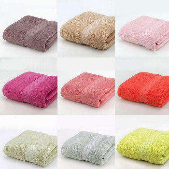 Unfading Pure Cotton Bibulous Bath Towel - COFFEE