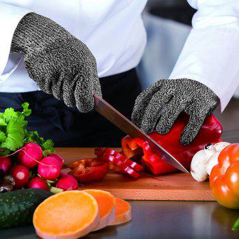 Washable HPPE Cut Resistant Gloves - GRAY