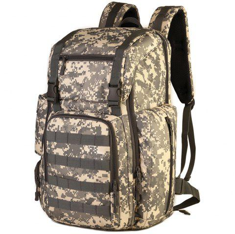 Outdoor Large Capacity Multi-function Nylon Backpack for Men - ACU CAMOUFLAGE