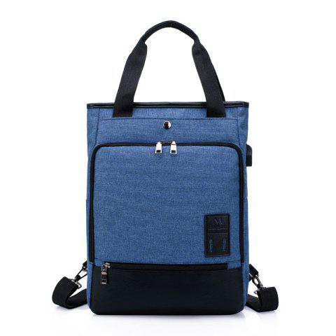 HUWAIJIANFENG Water-proof Outdoor Backpack with USB Charging Interface - BLUE EYES