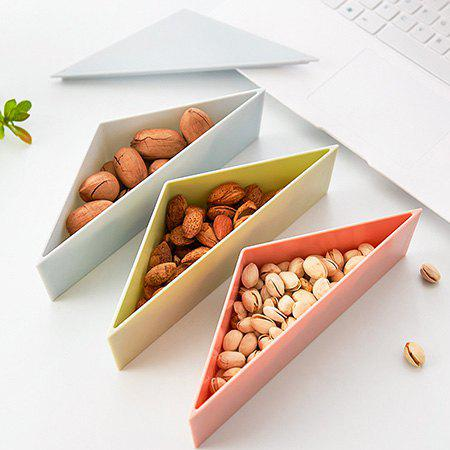 Stylish Nuts Candy Storage Box DIY Intelligent Shape Toys - CYAN OPAQUE