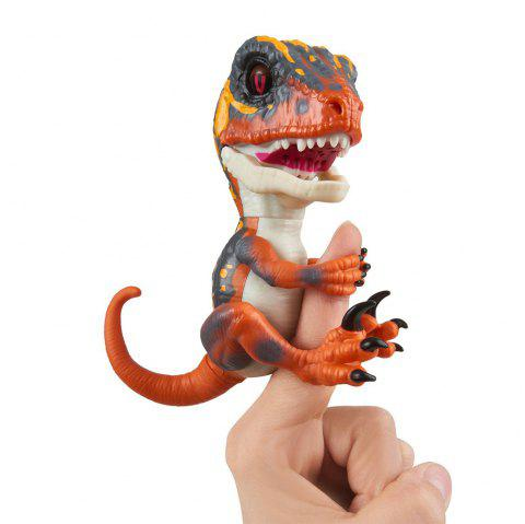 Creative Trendy Finger Dinosaur Model Toy - DARK ORANGE