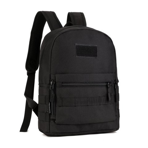 Protector Plus Outdoor Nylon Backpack for Men - BLACK