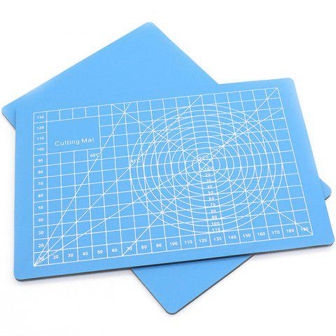 A5 Paper Cutting Board - DEEP SKY BLUE