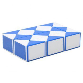 Trendy Educational Rubik's Twist 24 Segments Magic Ruler - BLUE DRESS