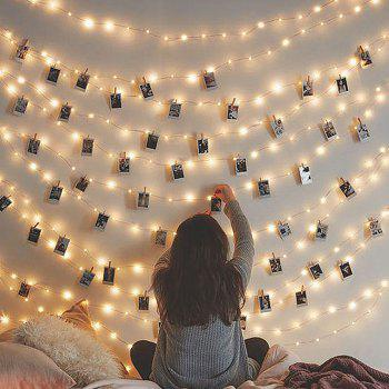 Creative Clip LED Lamp Photo Wall Decoration Lights