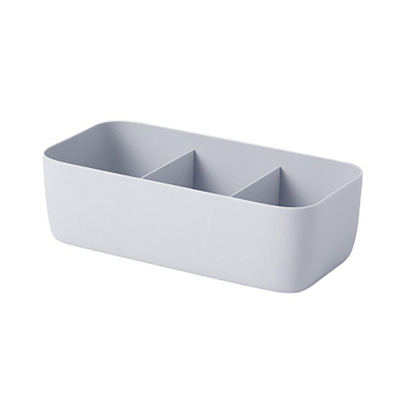 DIHE Wide Strip Simple Cabinet Socks Separate Storage Box - PASTEL BLUE