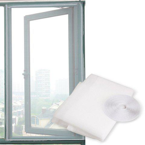 Anti-mosquito Insect Fly Mesh Window Screen Curtain Net - WHITE
